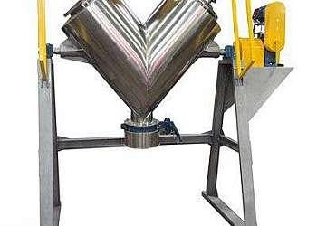 Misturador horizontal de argamassa